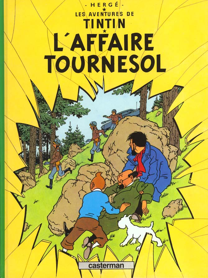 L' AFFAIRE TOURNESOL - TINTIN - T18